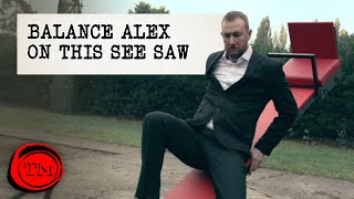 Balance Alex on a See Saw | Full Task | Taskmaster