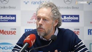 Conférence de presse après Standard - Antwerp