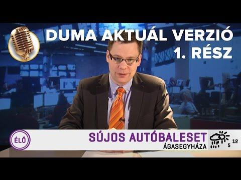 Akkor. Amikor. Híradó 1. rész | Duma Aktuál | Dumaszínház