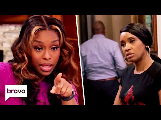 Quad Goes Off On A Rant & Contessa's Husband Storms Off   Married To Medicine Highlights (S7 Ep2)