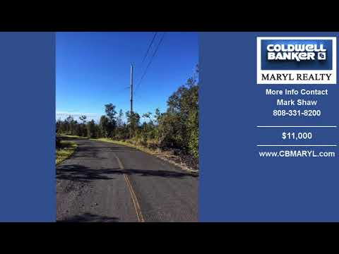 Land For Sale Ocean View HAWAII Real Estate $11000 on 1.032 Acre by Mark Shaw