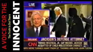 """Michael Jackson """"Honorable and Decent"""" * Attorney Tom Mesereau 2005 Trial ༺★༻ Larry King Live"""