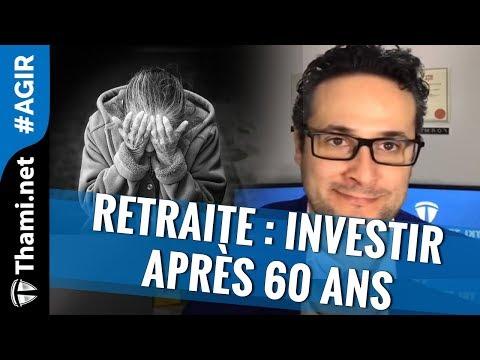 Retraite Investir après 60 ans !!! [REPLAY]