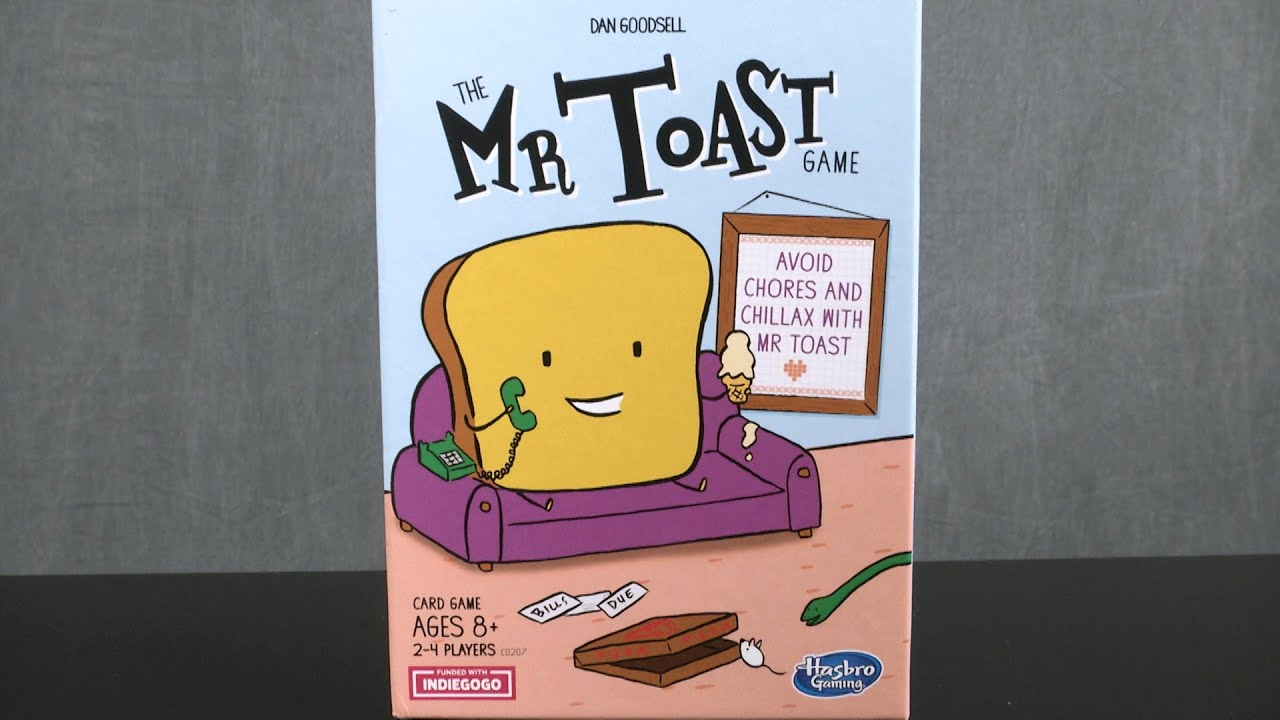 The Mr. Toast Game from Hasbro