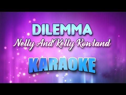 Nelly And Kelly Rowland - Dilemma (Karaoke version with Lyrics)