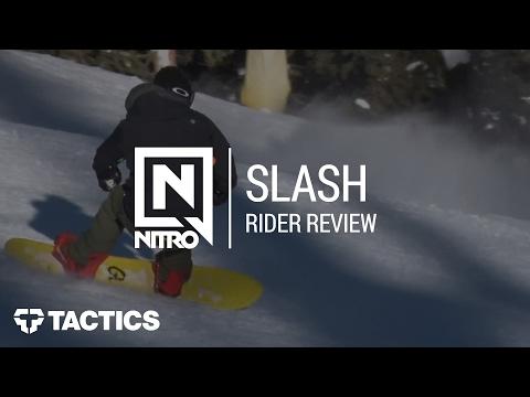 Nitro Quiver Slash 2018 Snowboard Rider Review | Tactics