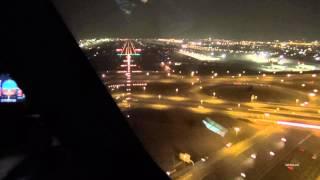 Dubai A330-300 Cockpit landing