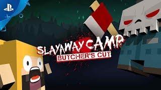 Slayaway Camp: Butcher's Cut - Announcement Trailer | PS4