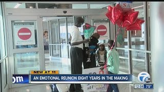 Sudanese refugee reunites with family in WNY