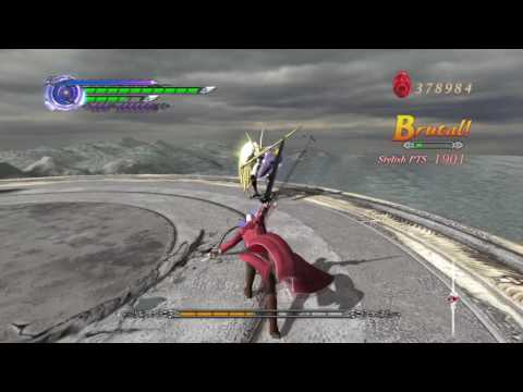 Devil May Cry 4 Special Edition Super Vergil Vs Angelo Credo (Boss Fight) |