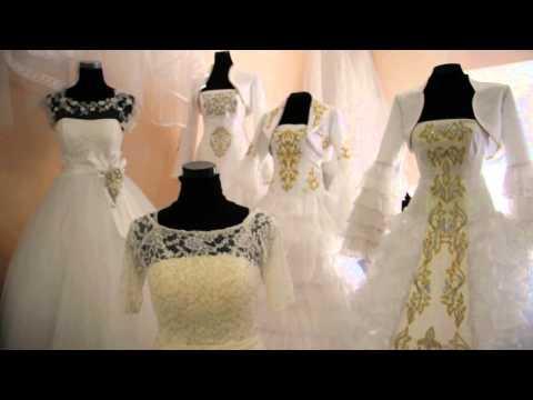 Как в химчистке отчищают пятно на свадебном платье