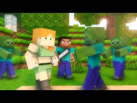 Steve Life 1-5  - Minecraft animation