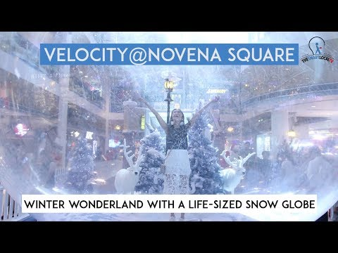 Experience Winter Wonderland In A Life-Sized Snow Globe