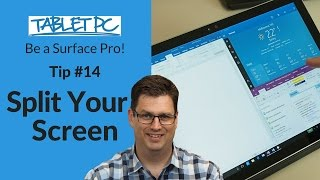 Be a Surface Pro! How to split your screen using the Surface Pro 4