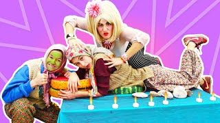 Fındık ailesi. Ayşe ve Asiye  spa salonuna gidip masaj yaptırıyorlar. Komik video