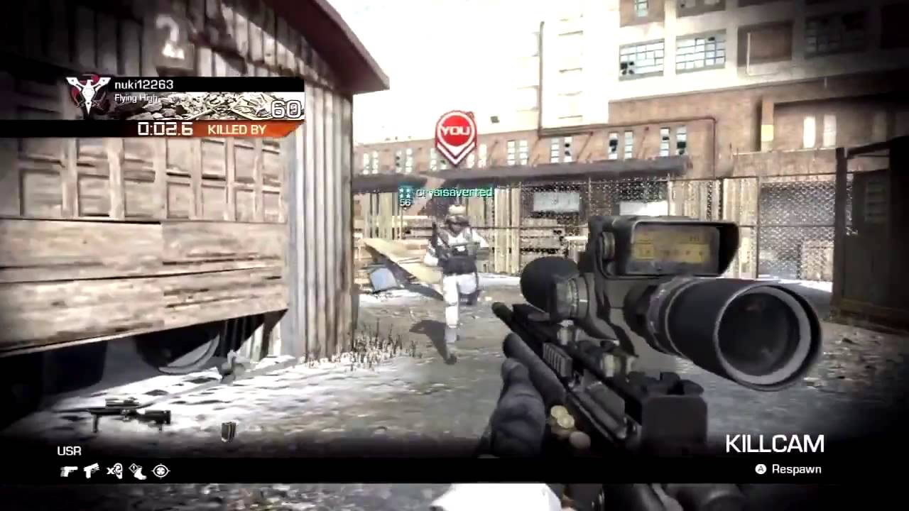 RIP Call of Duty Ghosts COD Ghosts Wii U Gameplay