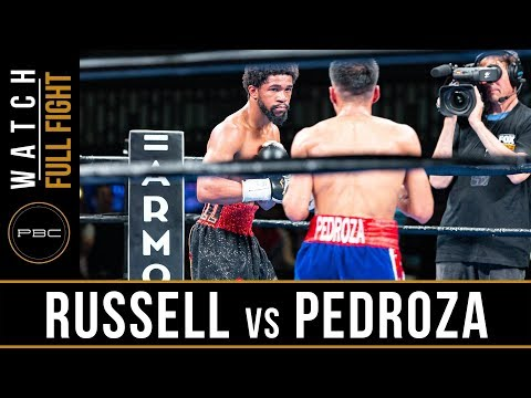 Russell vs Pedroza