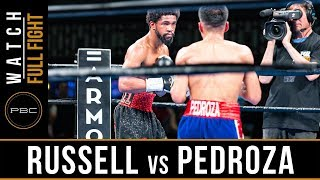 Russell vs Pedroza FULL FIGHT: July 13, 2019 - PBC on FS1
