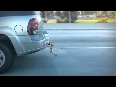 Hang on Woody! - Toy Story in the Wild!