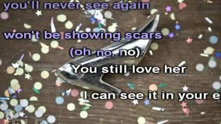 demi lovato every time you lie karaoke (HD)