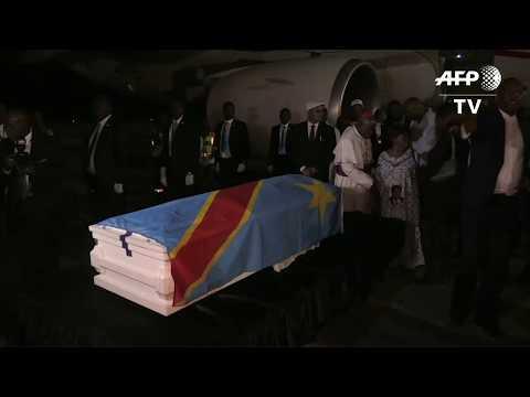 RDC : le cercueil d'Etienne Tshisekedi arrive à Kinshasa | AFP Images