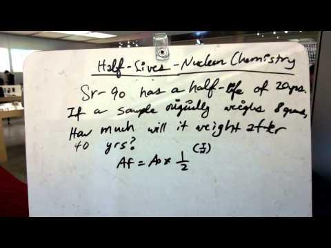 half life carbon dating formula