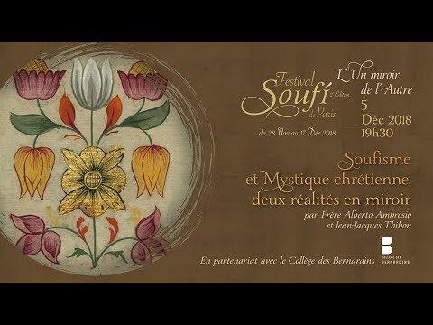 Soufisme Et Mystique Chrétienne : Deux Réalités En Miroir Alberto Ambrosio Et Jean-Jacques Thibon