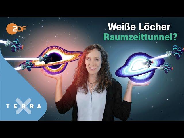 Weiße Löcher: Wurmlöcher zu fremden Welten?