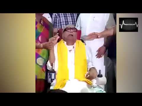 DMK CHIEF MEETS HIS PARTY VOLUNTEERS AFTER LONG TIME