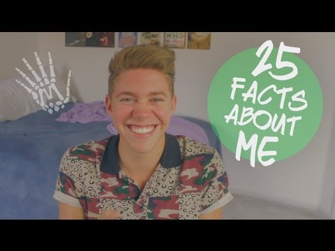 25 Facts About Me | Jonah Green