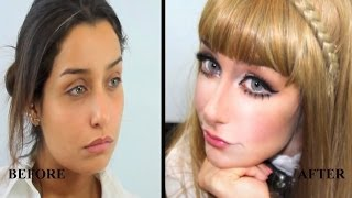 Dakota Rose and Doll inspired Makeup by Hanan Alnajadah حنان النجاده