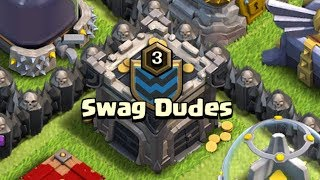 SWAG DUDES! TH9 Dark Elixir Time | Clash of Clans