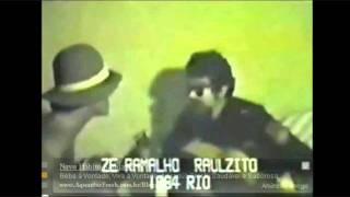 Raul Seixas e Zé Ramalho - A hora do trem passar