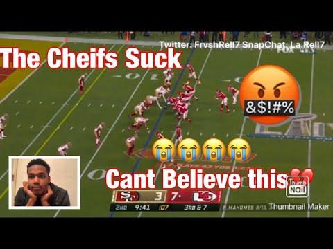49ers vs. Chiefs | Super Bowl LIV Game Highlights (Sad Reaction😭)