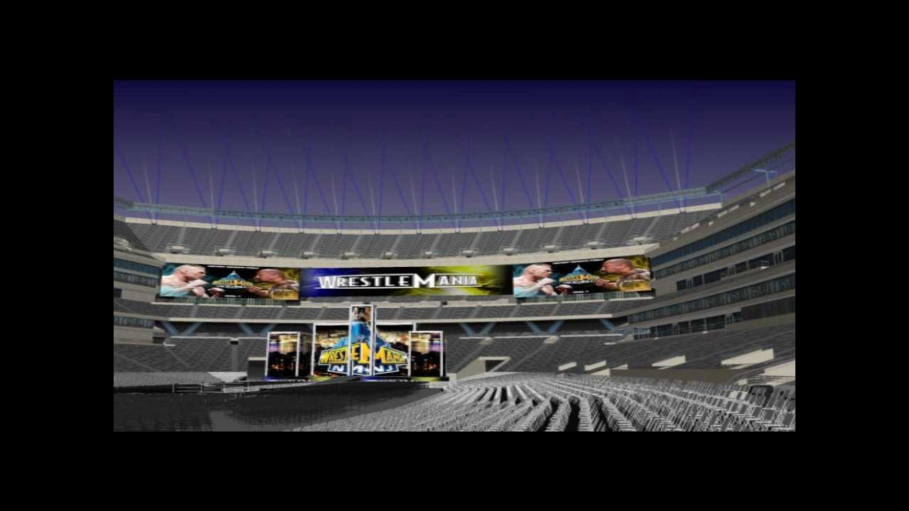 WWE Wrestlemania 29 Stage Concept #5 - YouTube Wrestlemania 29 Stage