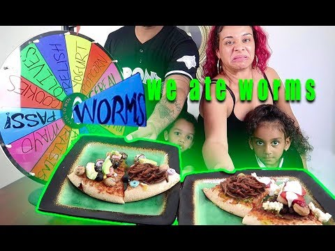 MYSTERY WHEEL OF PIZZA CHALLENGE!! | THE JD HOUSE