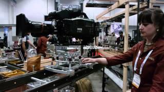 MYT 3-in-1 Camera Slider Dolly System at NAB 2013!