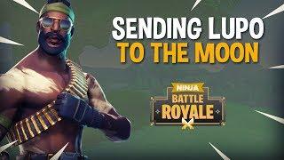 Sending Lupo To The Moon - Fortnite Battle Royale Gameplay - Ninja Dr Lupo