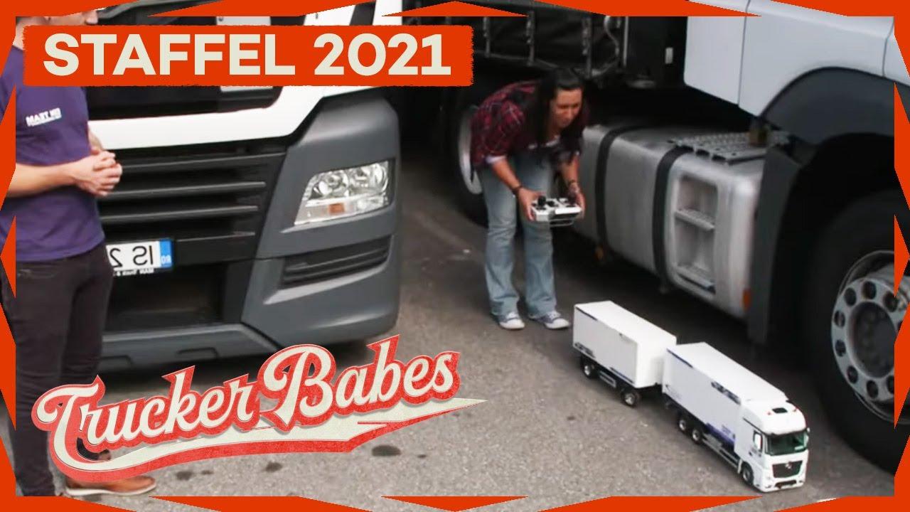 Trucker Babe Tinka im Modelltruck-Fieber   Trucker Babes   Kabel Eins