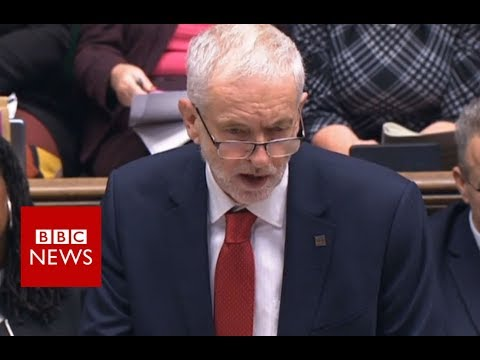 Labour Leader Corbyn: Political declaration 'worst of all worlds' - BBC News