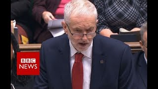 Labour Leader Corbyn: Political declaration 'worst of all worlds' - BBC News thumbnail