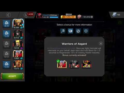 Heimdall's Synergies Are Godly! - Marvel Contest of Champions
