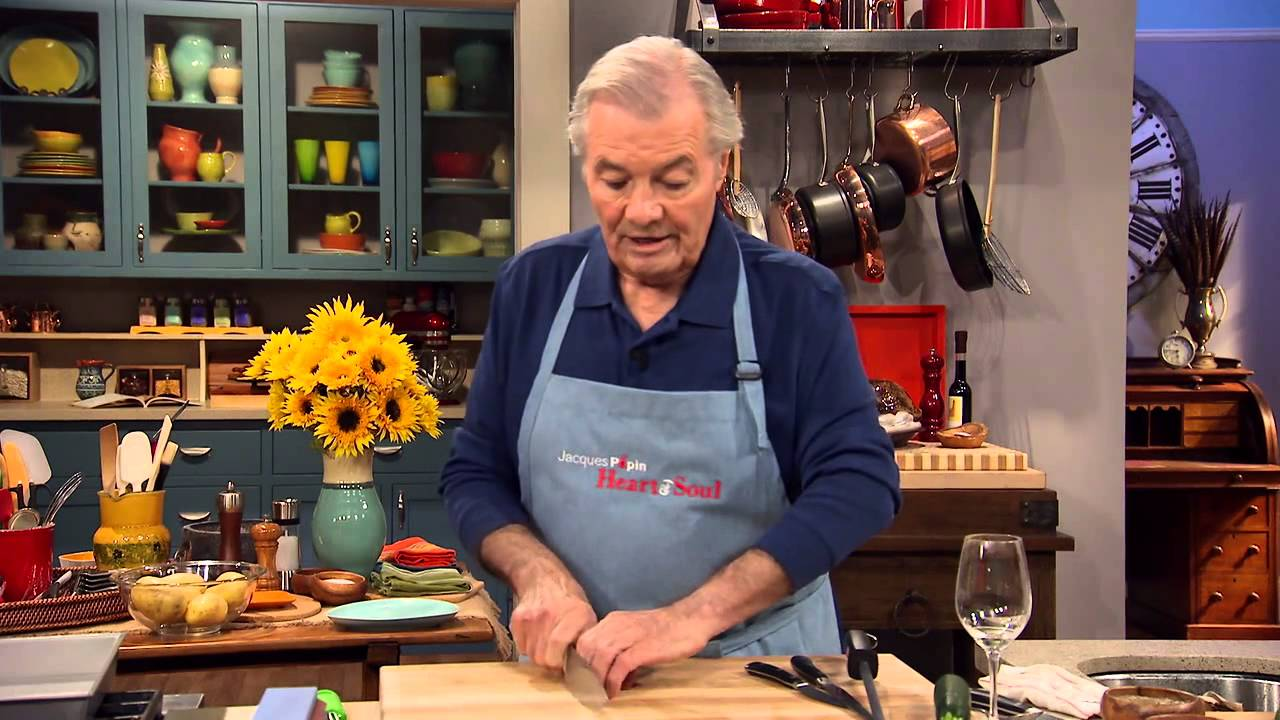 Jacques Pépin Techniques: Proper Knife Skills for Cutting ...