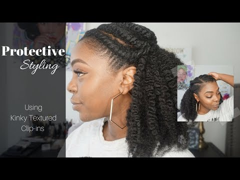 DID MY HAIR GROW!? Protective Styling for Short Natural Hair