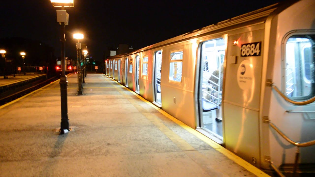 Coney Island Bound Train Of R160A-2s & R160Bs On The N ...