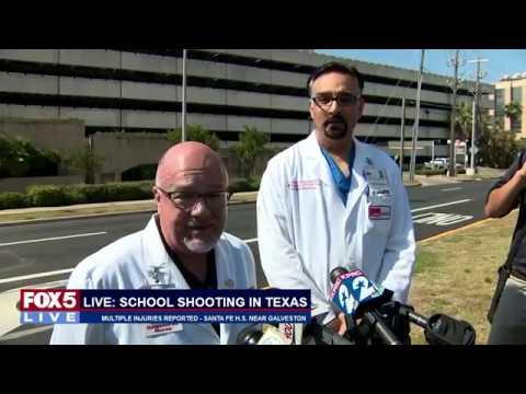 FOX 5 LIVE: 8 dead in Texas high school shooting; Pres. Trump remarks at prison reform summit