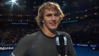 Zverev: 'I'm Unbelievably Happy To Be In The Semi-finals' thumbnail
