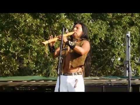 Sicanni Tallan Purizaca Performs @ the 2015 Shinnecock Pow Wow Native American