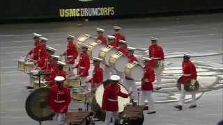 US Marine Drum & Bugle Corps Drumline Exhibition