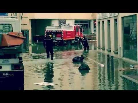 Inondations à Longjumeau le 1er juin 2016